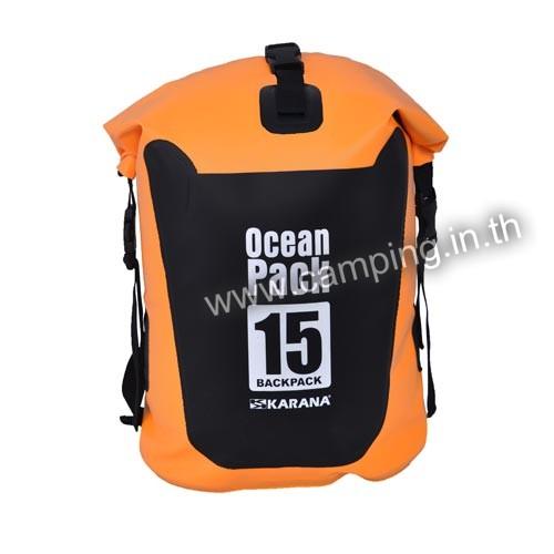 ถุงกระเป๋ากันน้ำ Ocean Pack ขนาด 15 ลิตร BackPack