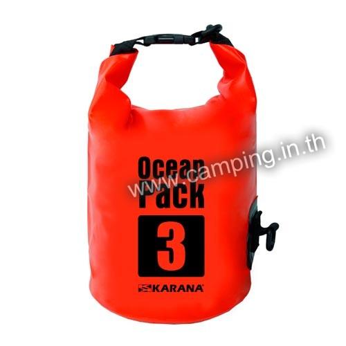 กระเป๋ากันน้ำ Ocean Pack ขนาด 3 ลิตร