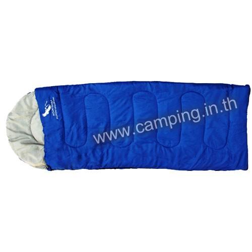 ถุงนอนราคาถูก รุ่น MG200 ขนาด 200 กรัม สีฟ้า