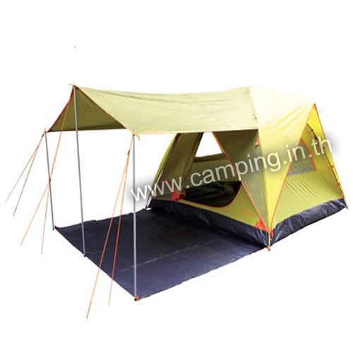 เต็นท์ Aurora IV Terrace Tent แบบมีระเบียง สีเขียว