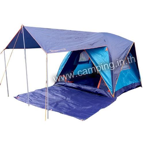 เต็นท์ Aurora IV Terrace Tent แบบมีระเบียง สีกรมท่าฟ้า