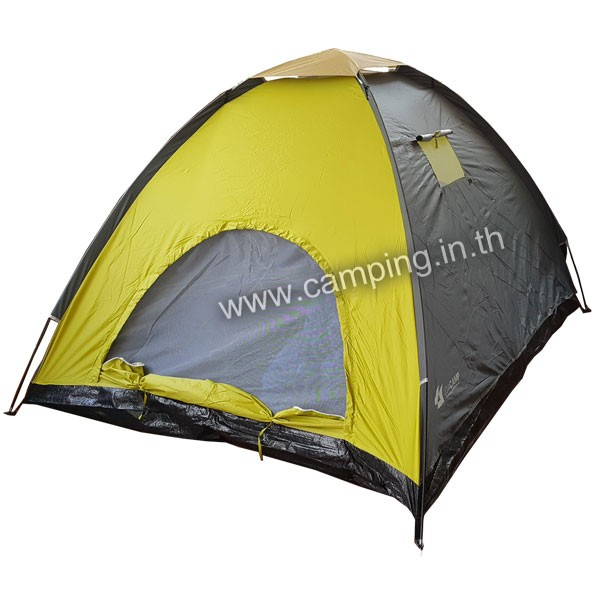 เต็นท์ราคาถูก รุ่น Colour P4 Tent