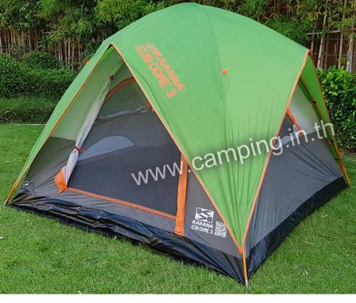 เต็นท์นอน Eco Dome 3 Tent สีเขียว
