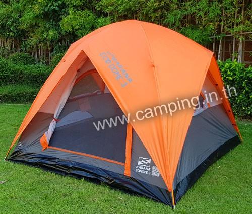 เต็นท์นอน Eco Dome 3 Tent สีส้ม