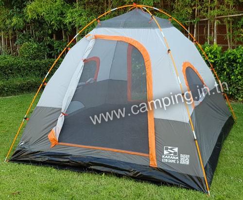 โครงเต็นท์ เต็นท์นอน Eco Dome 3 Tent