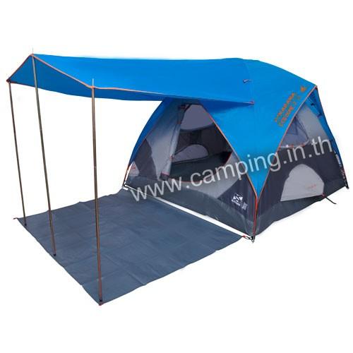 เต็นท์ Eco Dome 5 Canopy แบบมีชายคา
