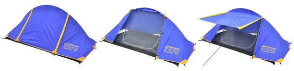 tent touring