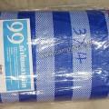 กราวชีท Ground Sheet 300x400 สีฟ้า-ขาว