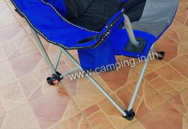 เก้าอี้สนามเดินป่า KingSize Ranger ช่องวาง ช่องใส่แก้วน้ำ