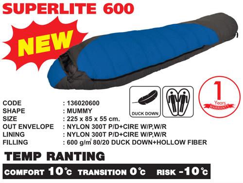 ถุงนอน Superlite 600
