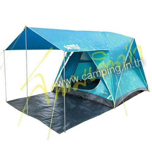 เต็นท์ Aurora III Terrace Tent สีกรมท่าฟ้า