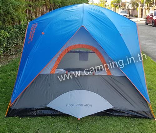 ด้านข้าง เต็นท์นอน Eco Dome 3 Tent สีฟ้า