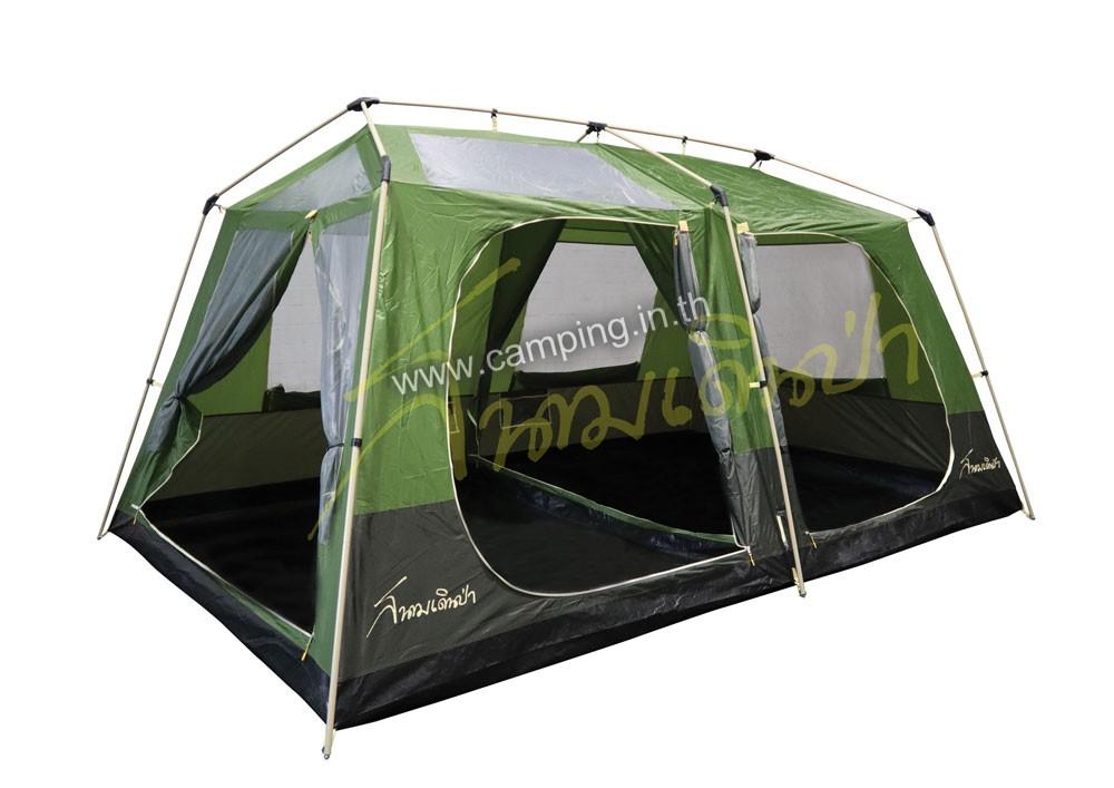เต็นท์ครอบครัวสนามเดินป่า รุ่น Lagoona JR Tent ภายใน