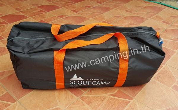 เต็นท์ลูกเสือ รุ่น Scout Camp ปี 2017 กระเป๋าใส่ขนาดใหญ่