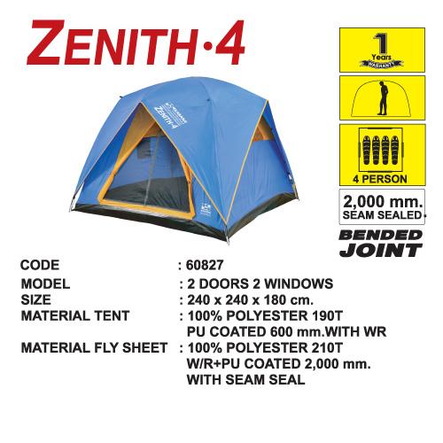 เต็นท์ ZENITH 4